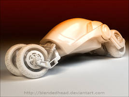 3D motorbike concept_no shader by blendedhead