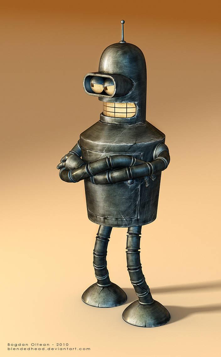 Bender Update by blendedhead
