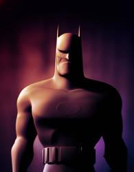 batman - work in progress2 by blendedhead
