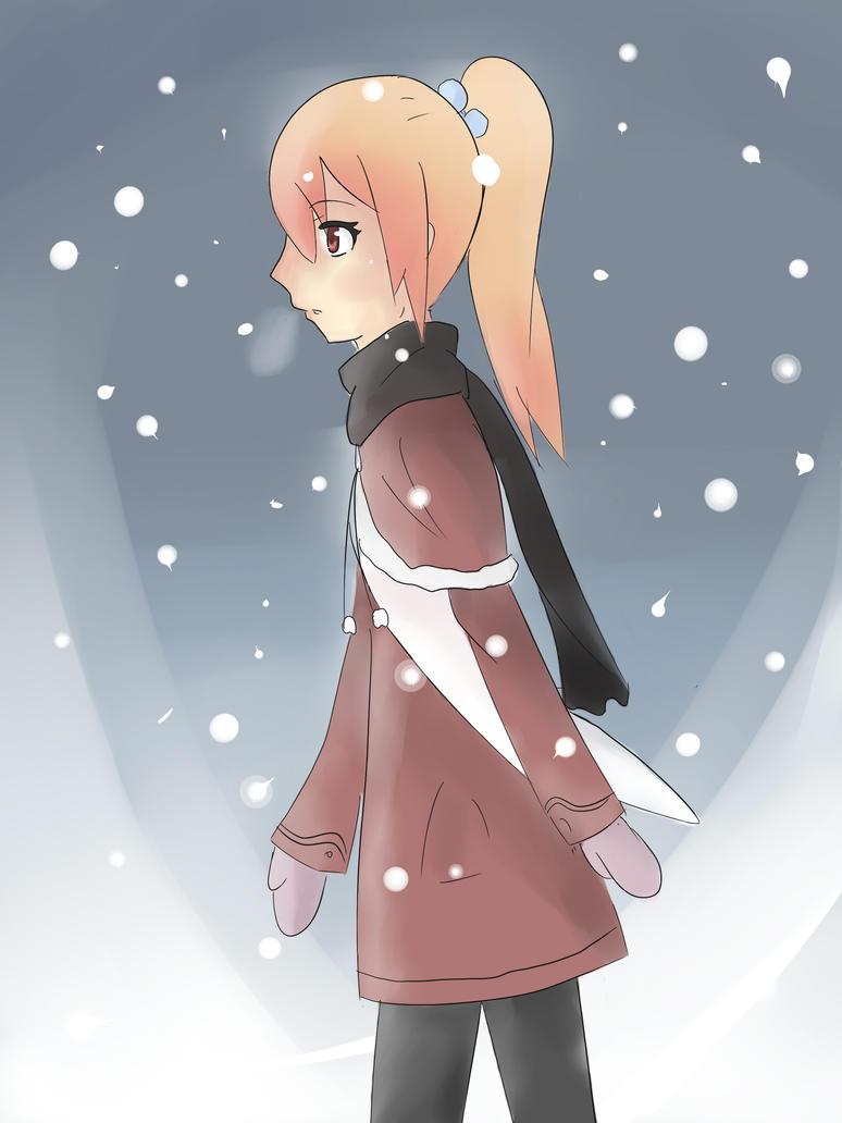 Esumi's Art Corner Snowing_by_lavixkite-d5c01gi