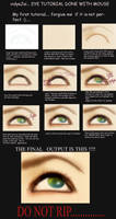 eye tutorial with mouse by VidyaJai