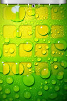 iphone4,4s_wallpaper green_Candy by bioshare