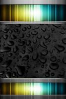 iphone4_4s_wallpaper_black drops_lockscreen by bioshare