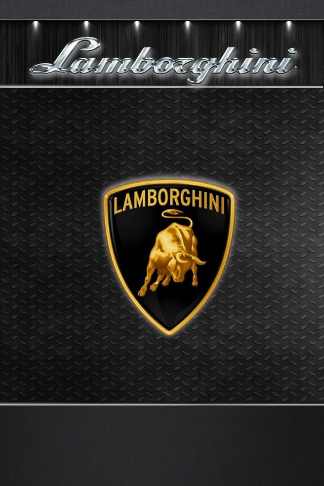 iphone 4 4s wallpaper lamborghini ios5look by bioshare on