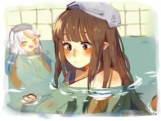 Bathtime! by renietan