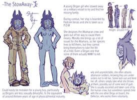 The Stowaway Girl by Jesseth