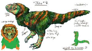 Julie The T-Rex Breedable! : PAUSED by Jesseth