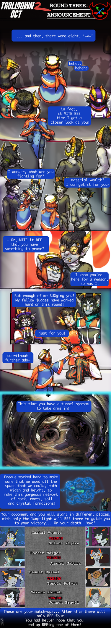 TD2 Round3: ANNOUNCEMENT COMIC by Jesseth