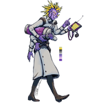 Purple Spike Scientist For Lucidscreatures Largeve by Jesseth