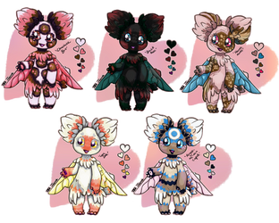 valentines 2019 Fairie Asteroid Puppies: OPEN! by Jesseth