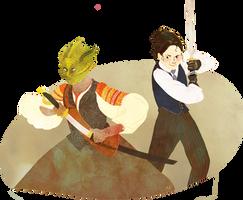 Madame Vastra and Jenny