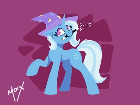 Minimalistic Trixie