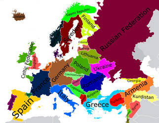 Alternate Europe by Scooter20