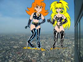 Wonder Collab with Leetana by machinasa