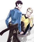 Star Trek - Chair Scene