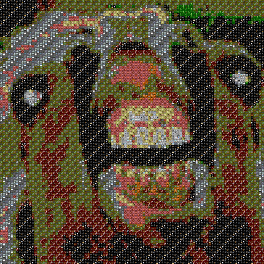 Emoji art by MrDerpYT