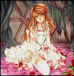 Paint me blood red by MangoOblivion