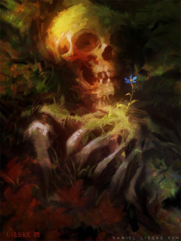 Old Bones by daniellieske