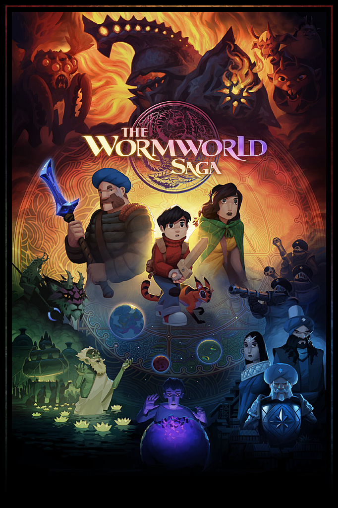 The Wormworld Saga 2016 by daniellieske