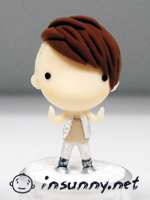 SHINee Lucifer fashion doll by Sunnyclay