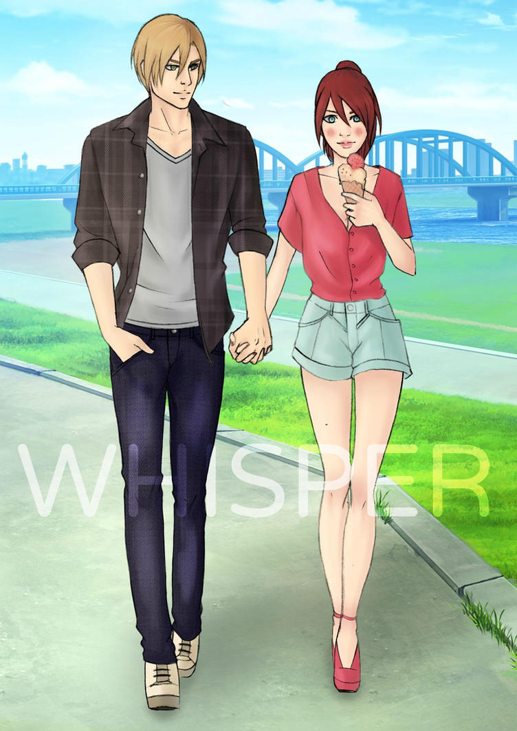 Resident Evil Walking - Leon x Claire by Whisper1093