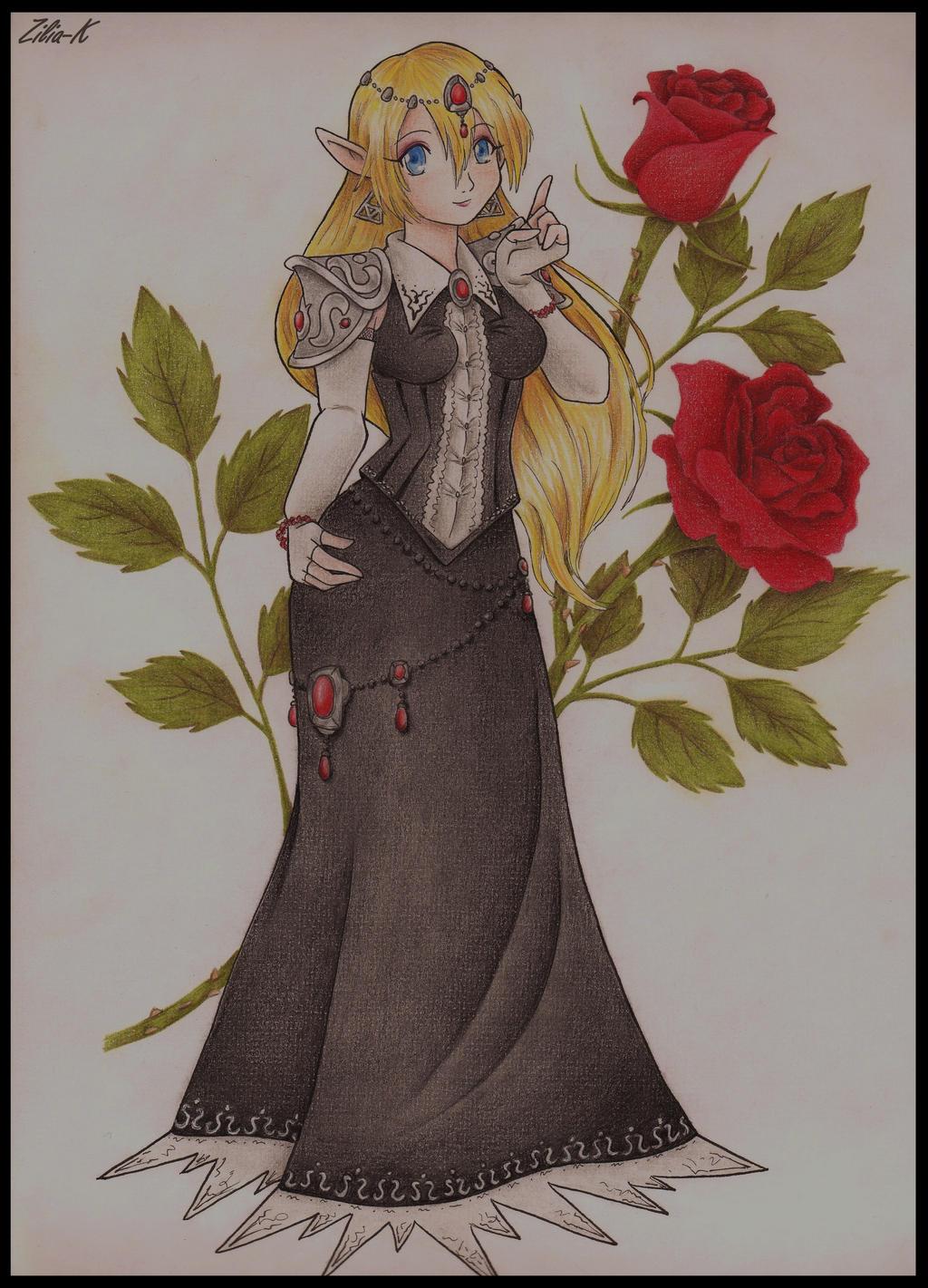 Zelda Evil Rebelion-color by zilia-k