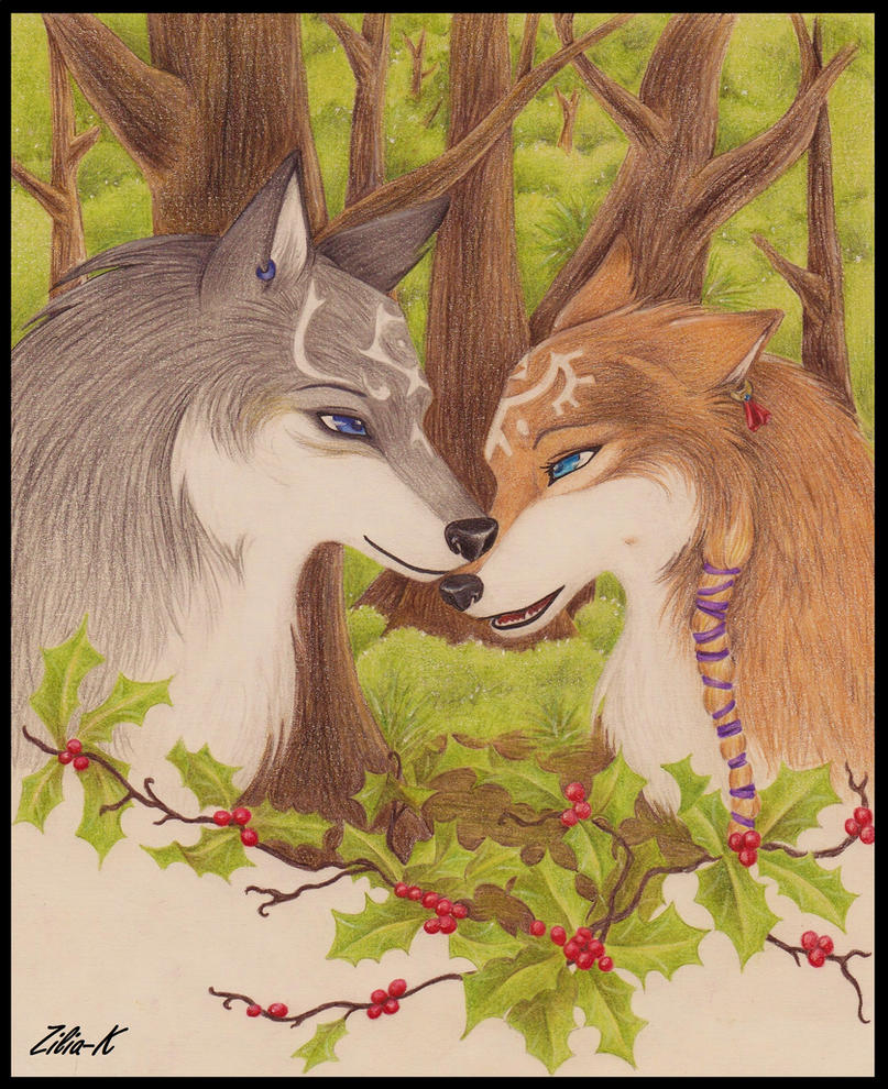 Zelink wolves-color by zilia-k