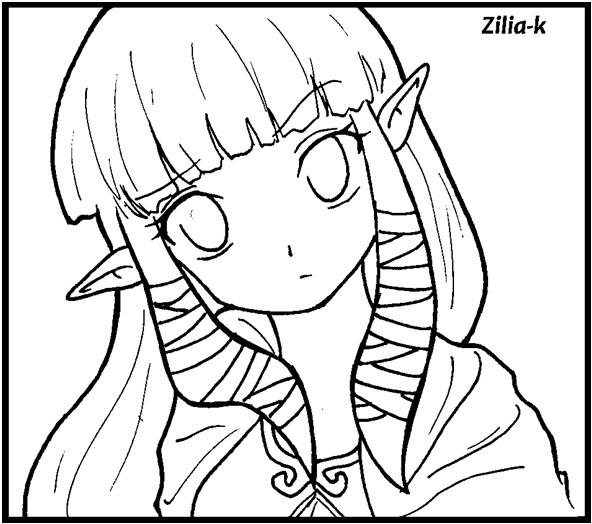 Zelda ss by zilia-k on DeviantArt