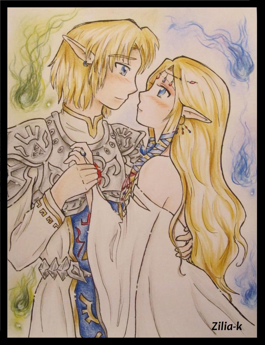 Zelink wedding by zilia-k