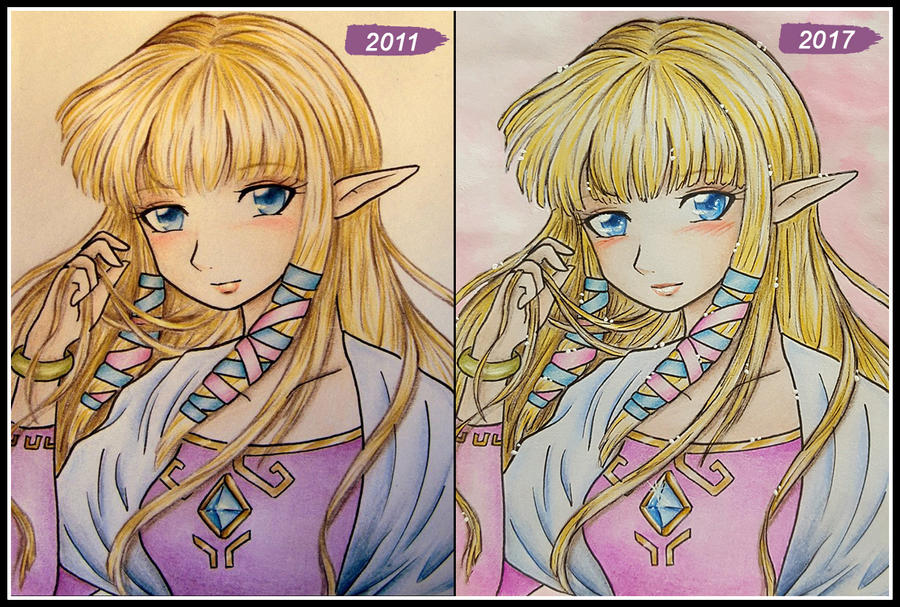 Remake Zelda SS by zilia-k