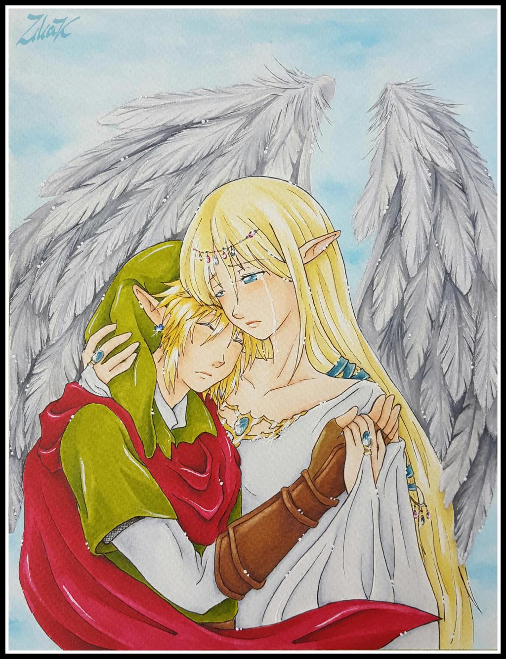 On goddess wings by zilia-k