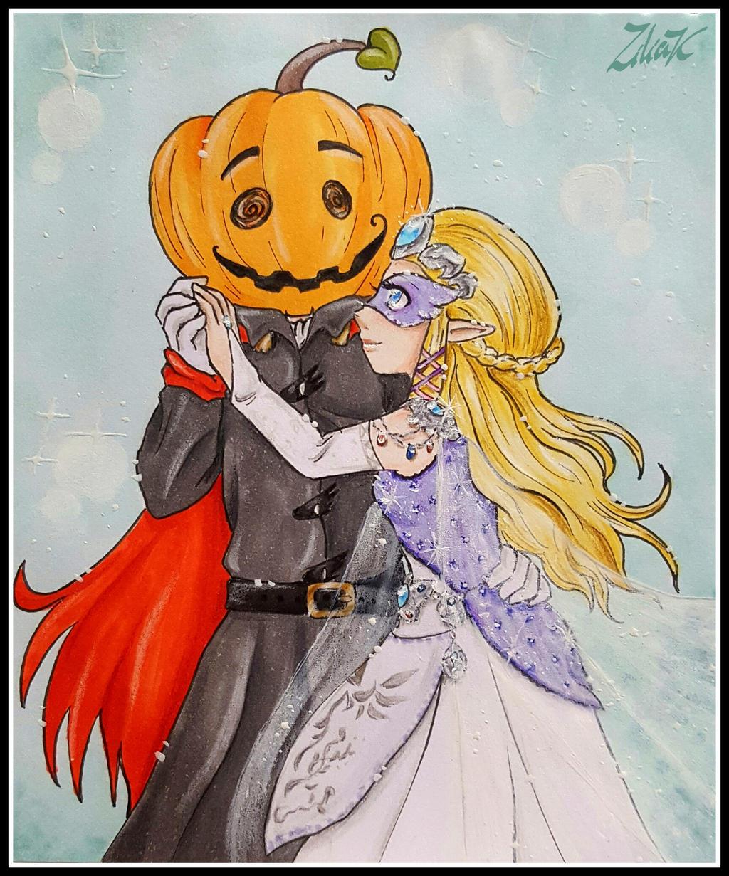 Laughing pumpkin by zilia-k