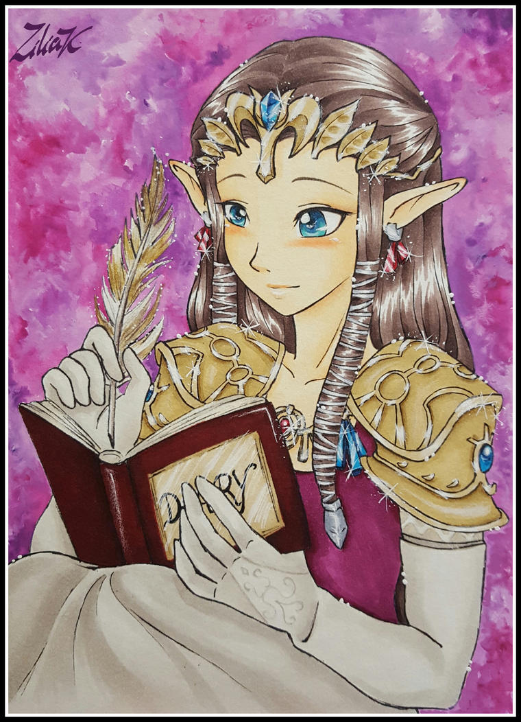 The princess's diary by zilia-k