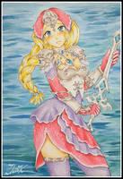Female Zora armour. Final by zilia-k