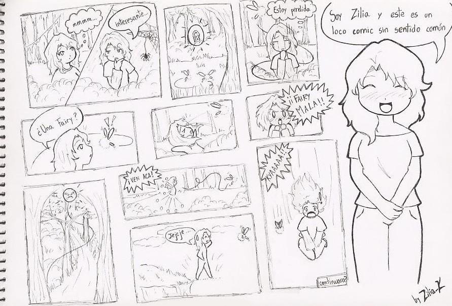 Comic Zilia XD by zilia-k