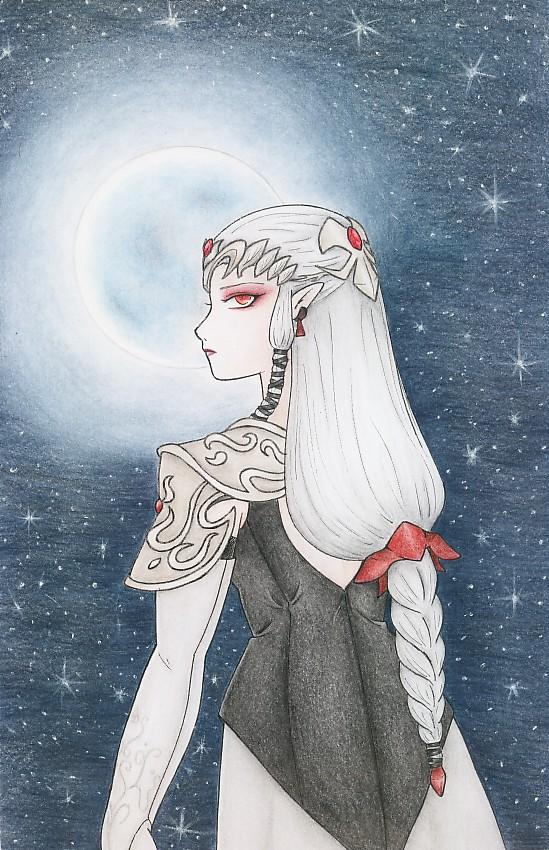 Dark Zelda-color by zilia-k
