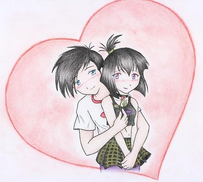 Danny y Sam by zilia-k