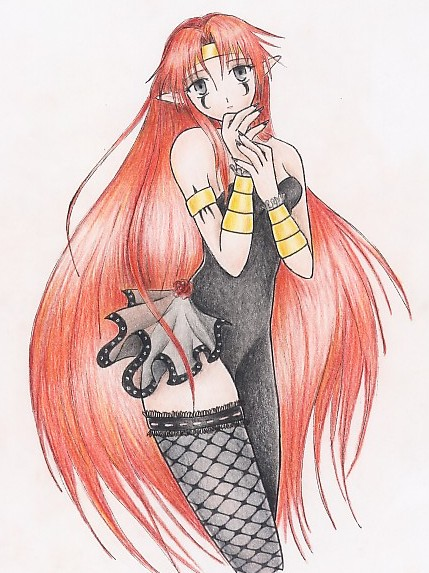 Lillith from.Anubis-san by zilia-k