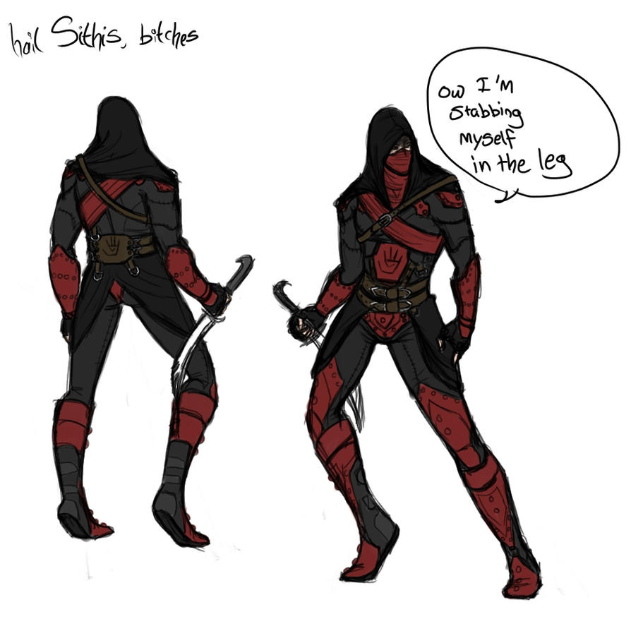 quick dark brotherhood male armour 'concept' by Asheh
