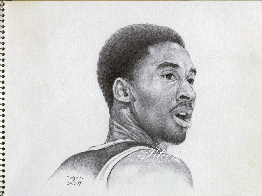 Time Out Pen Drawing Kobe Bryant By 8thLeo On DeviantArt