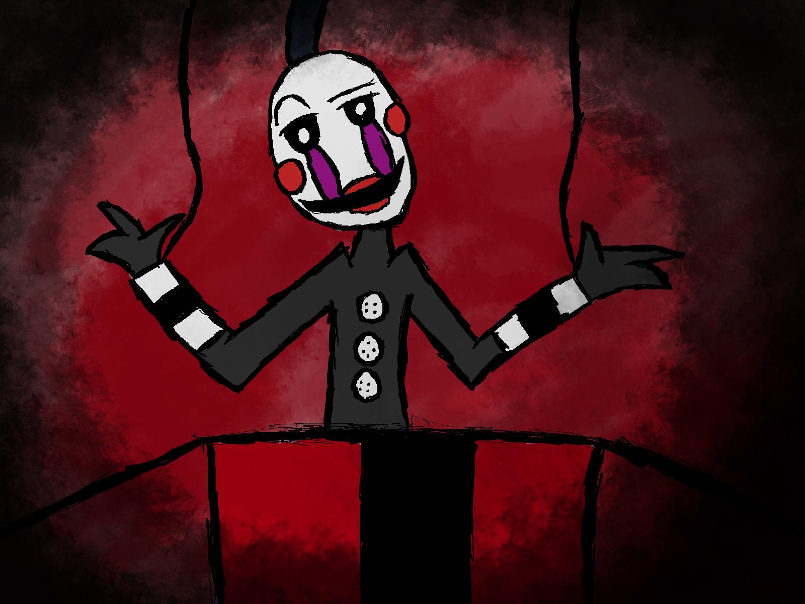 Marionette fnaf 2 by clamsaltthe3d on deviantart