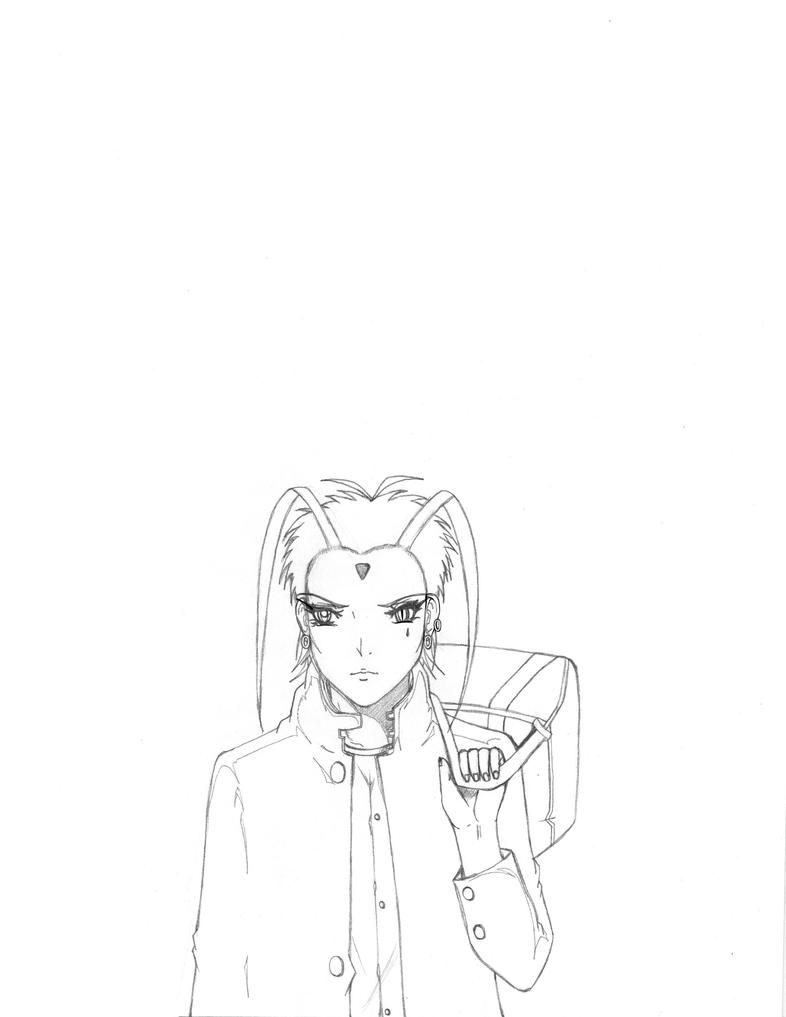Yuki OC from the bounty by xwx101