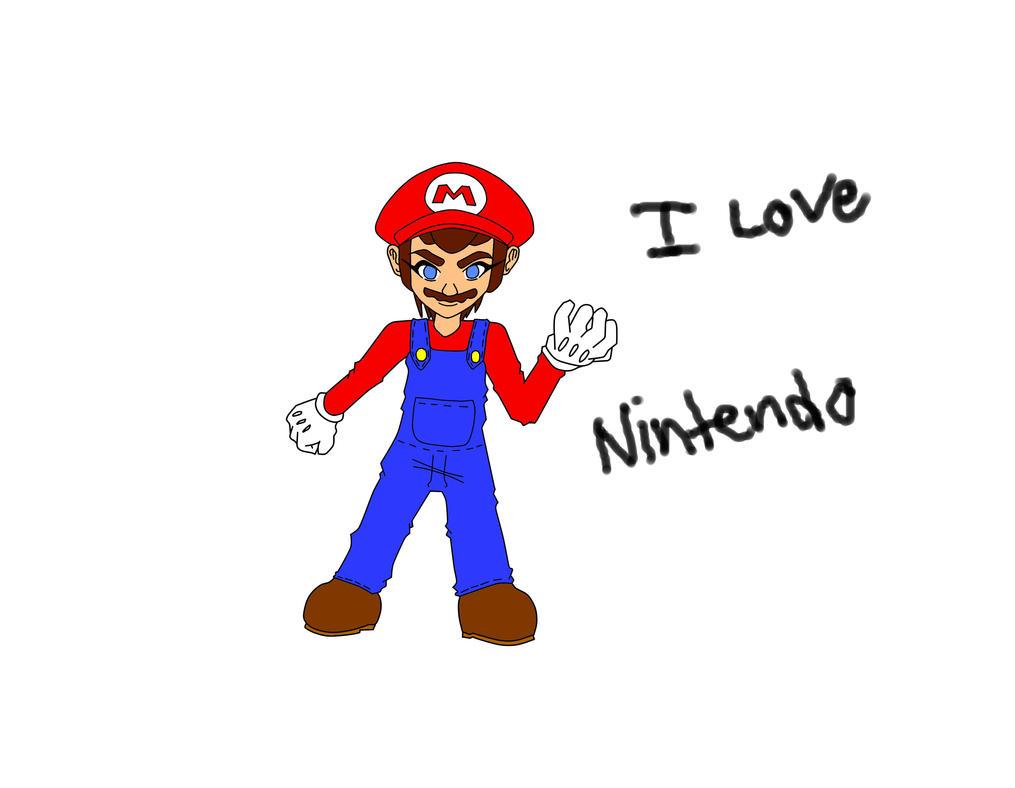 Mario anime style. by xwx101