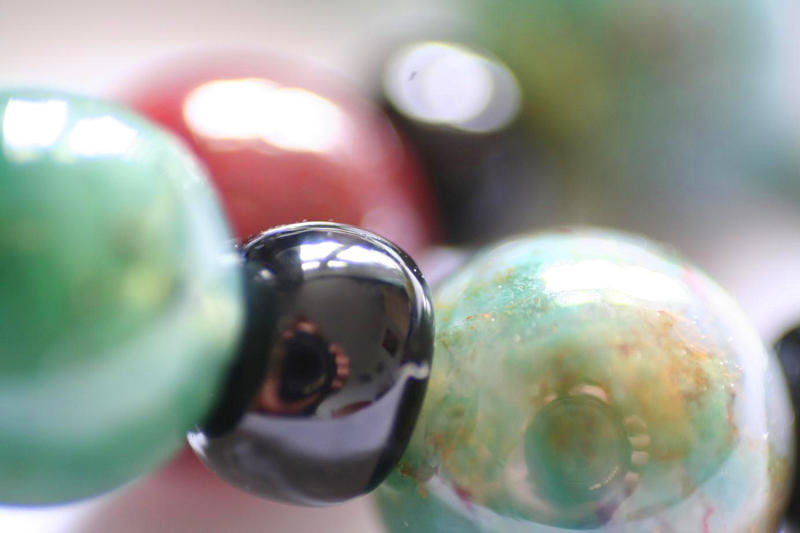 beads and lens by evelynzee