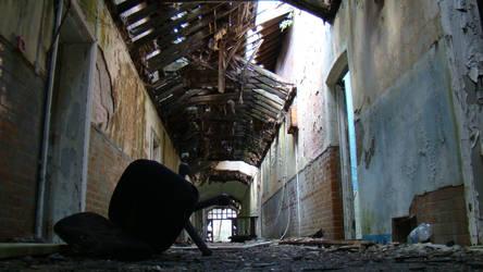 UrbEx: Hellingly Asylum iii by KellyJane