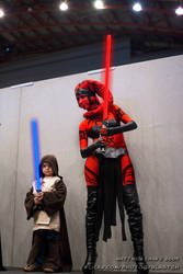 Darth Talon and Padawan Luke by KellyJane