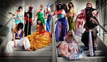 Undead Disney cosplays