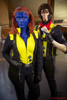 XMFC - Gambit and Mystique by KellyJane