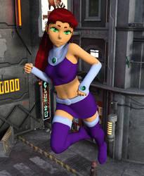 Starfire Daz3D render