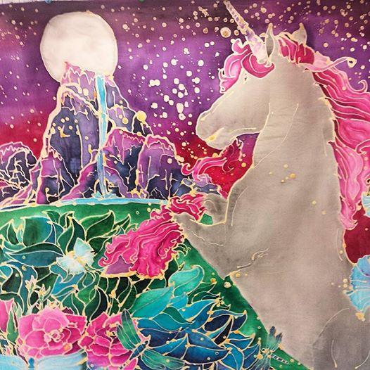 Silk Unicorn by AuroraBrigade